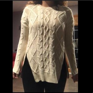 Forever 21 Thick Beige  Winter Sweater